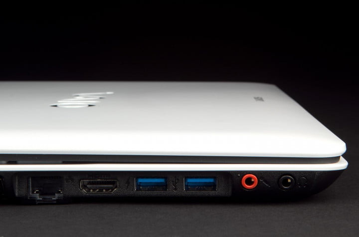 sony vaio fit e  review ports inputs macro