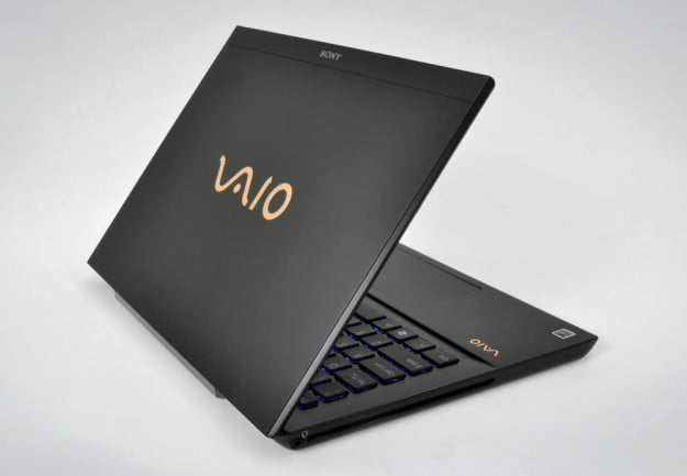 Sony Vaio S Premium 13 inch Review laptop lid open