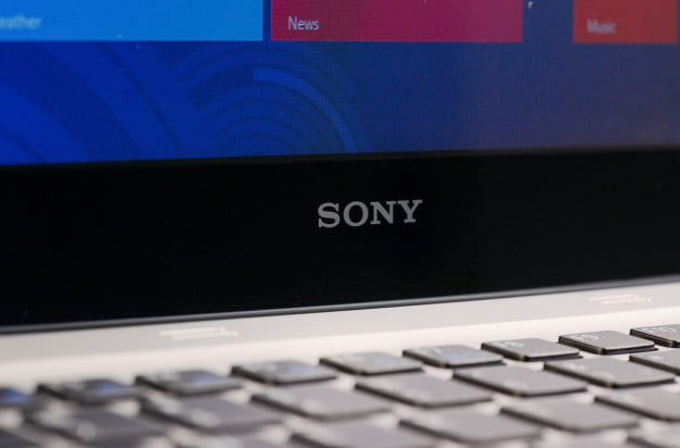 sony vaio t14 touch laptop display logo