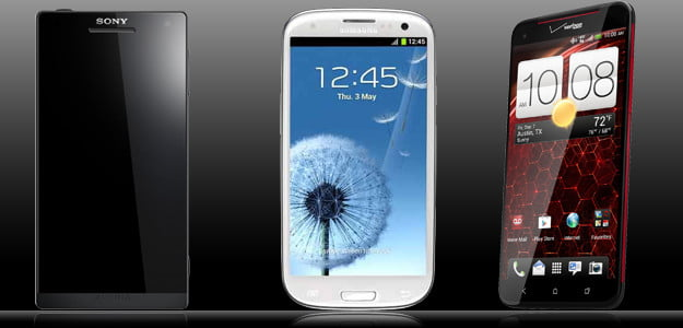 sony vs samsung droid dna