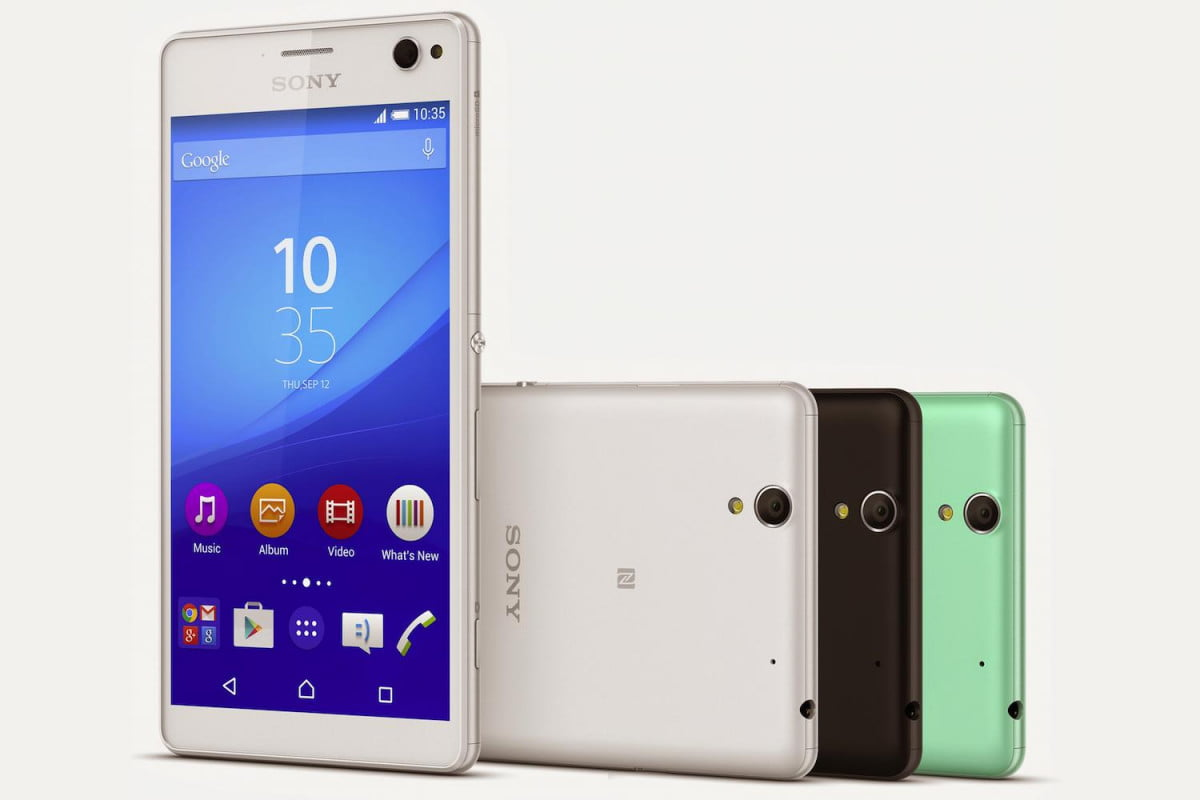 sony xperia c  news colors