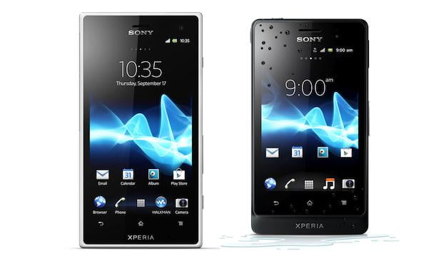Sony Xperia Go and Acro S