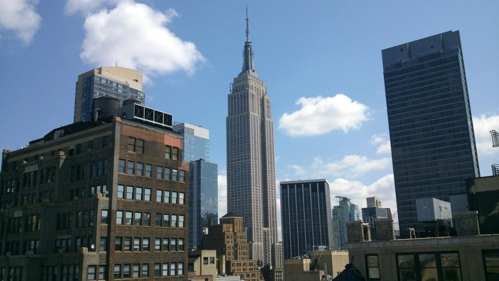 Sony Xperia P review camera sample empire state building android smartphone