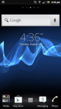 Sony Xperia P review screenshot android homescreen cropped android smartphones