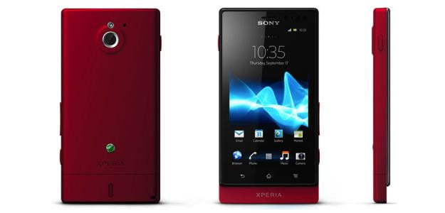 Sony Xperia Sola Red