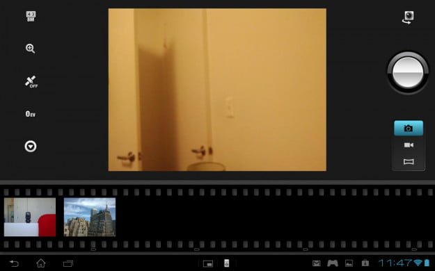 Sony Xperia Tablet S review screenshot camera