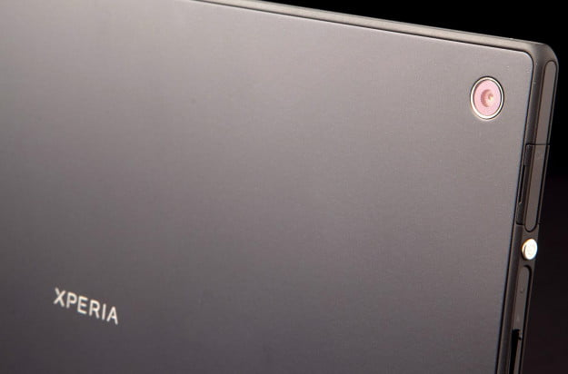 Sony Xperia Tablet Z review camera back angle