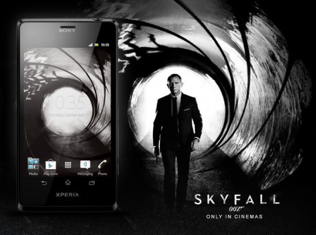 Sony Xperia TL James Bond