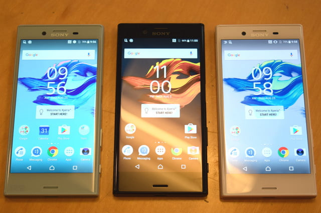 sony q  earnings report xperia x compact