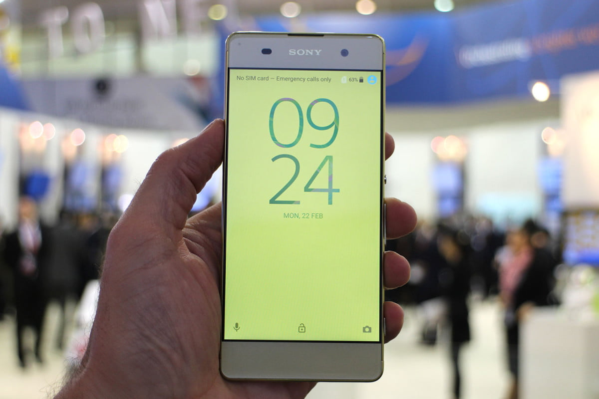 best phones tablets mwc  sony xperia xa front