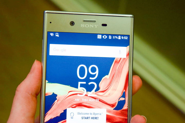 sony xperia xz hands on