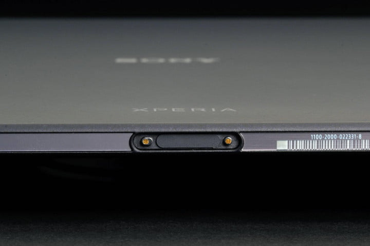 sony xperia z  tablet review dock