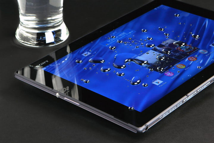 sony xperia z  tablet review water