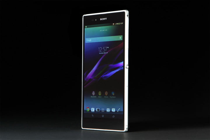 sony xperia z ultra review screen angle