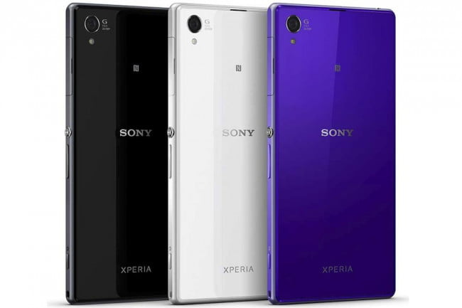 Sony Xperia Z1 Colors
