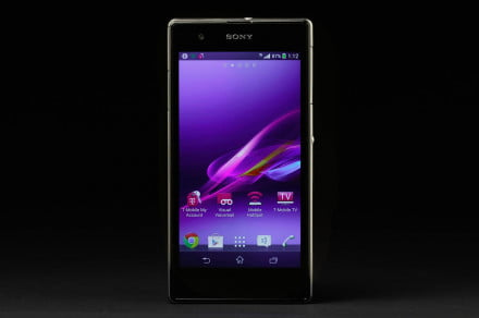 Sony Xperia Z1S review front screen