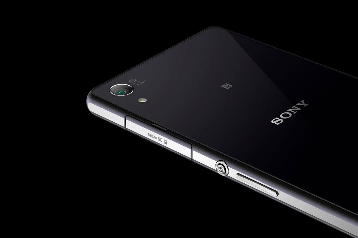 sony xperia z  news back angle