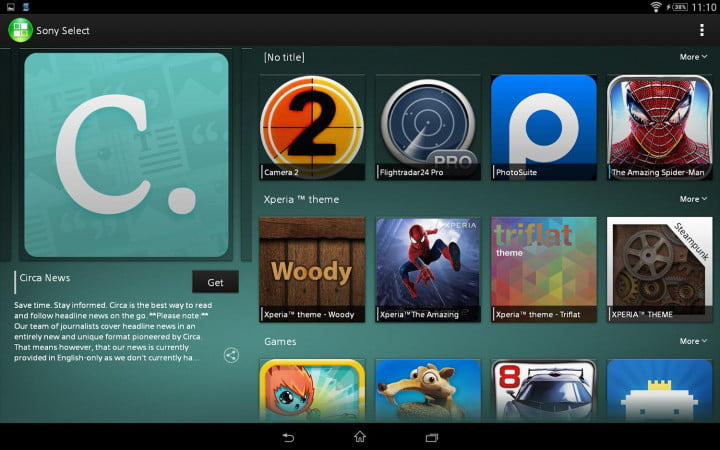 sony xperia z  tablet review select copy