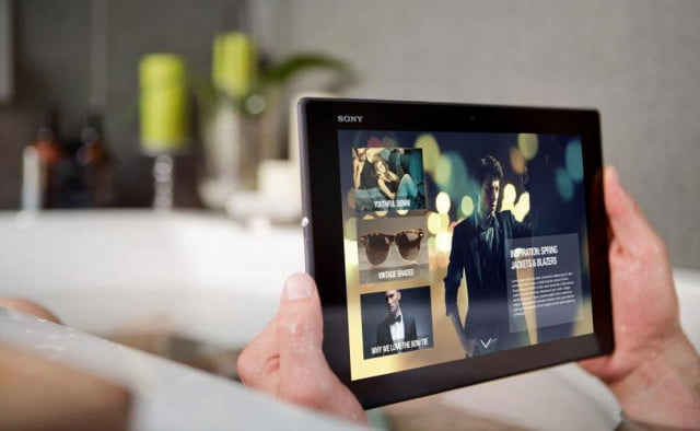 xperia z  tablet helpful tips and tricks sony press image