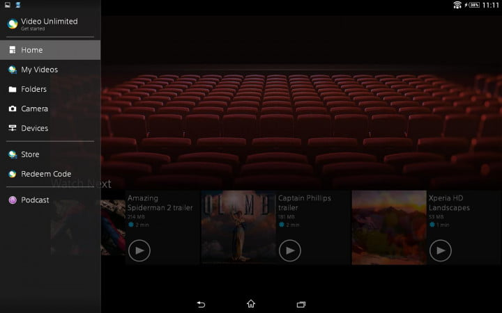 sony xperia z  tablet review video unlimited