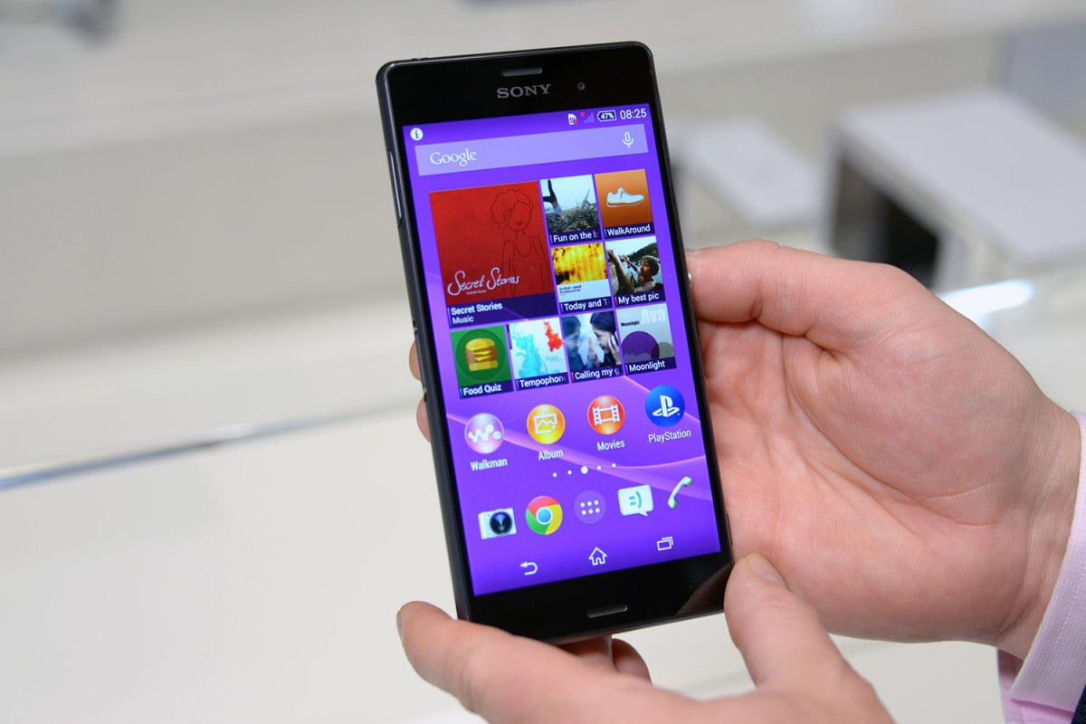 sony xperia z  t mobile launch phone home