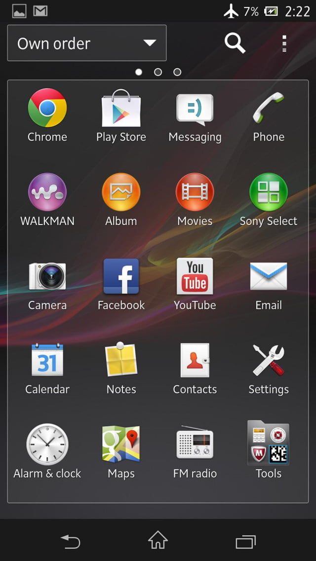 sony xperia zl review screens apps