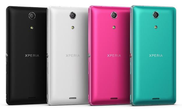 Sony Xperia ZR Colors