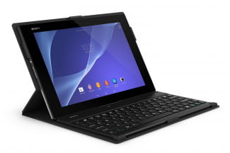 Sony Bluetooth Keyboard with Tablet Cover Stand BKC50