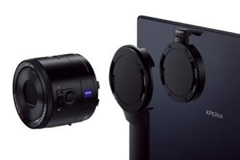 Sony Japan to sell attachments that mount QX lens cameras ...