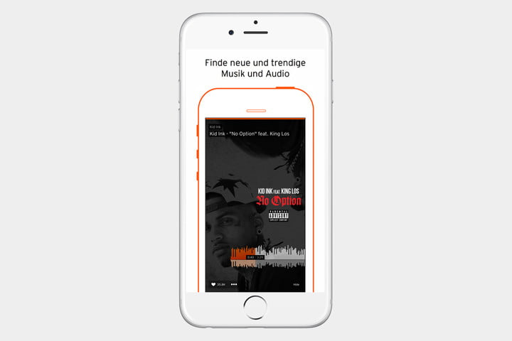 Soundcloud App Screen