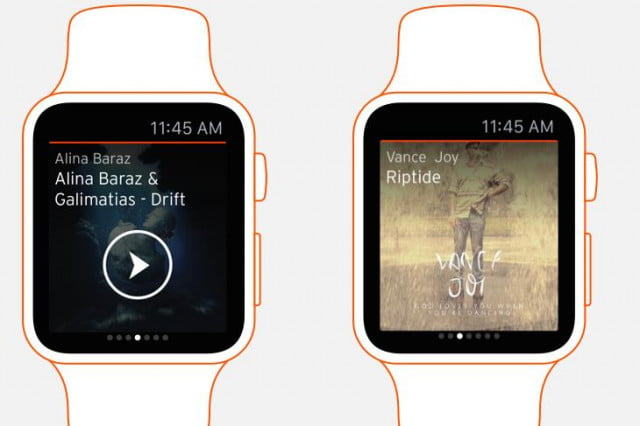 soundcloud apple watch sony for teaser
