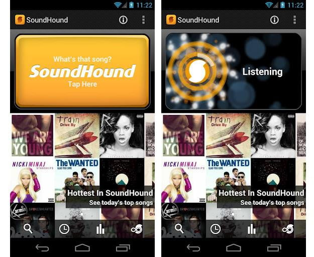 soundhound android google play music discovery app