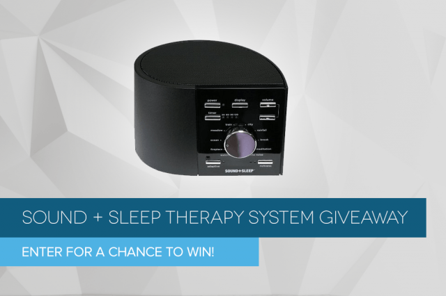 sound sleep therapy system giveaway