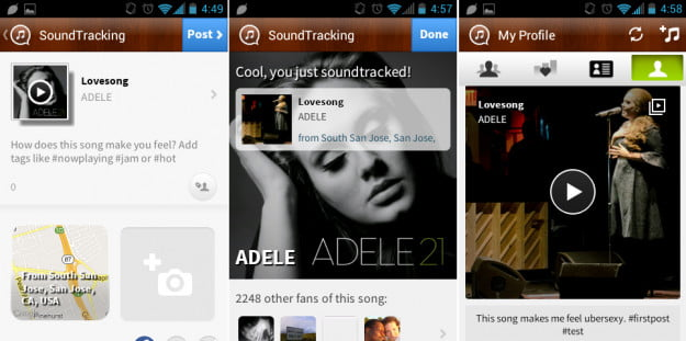 SoundTracking Android