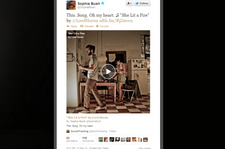 soundtracking twitter cards