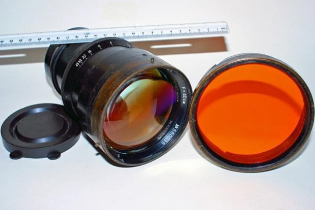 this ebay seller wants to sell you a soviet spy lens for  k we say good luck with that
