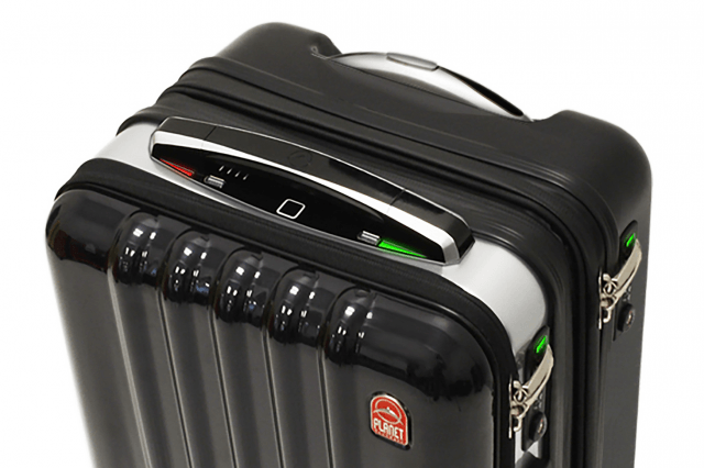 cool techhigh tech features space case suitcase