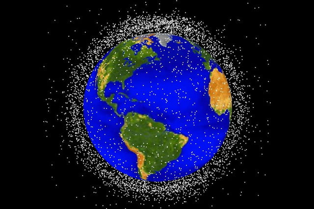 japan magnetic net for space junk