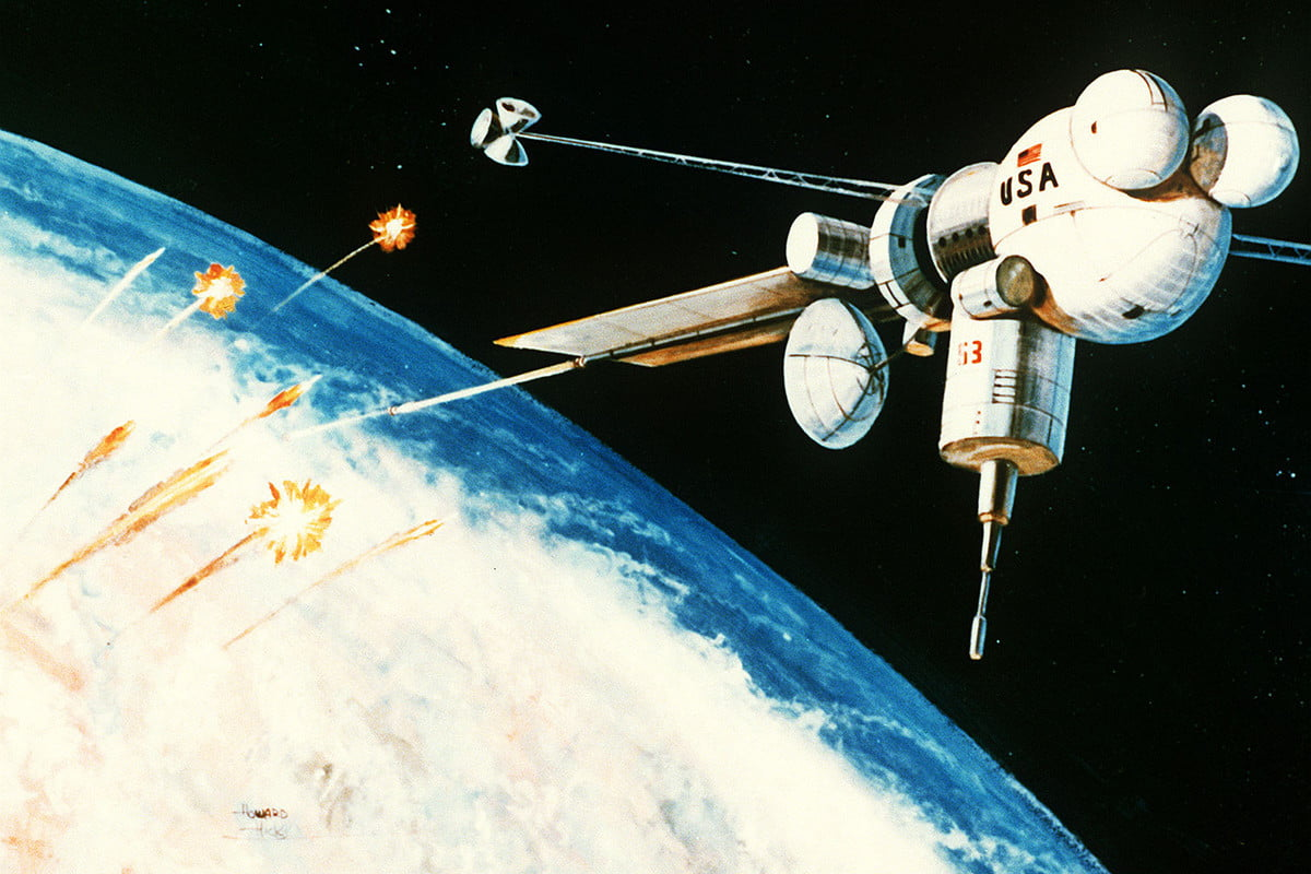 weaponized satellites and the cold war in space railgun