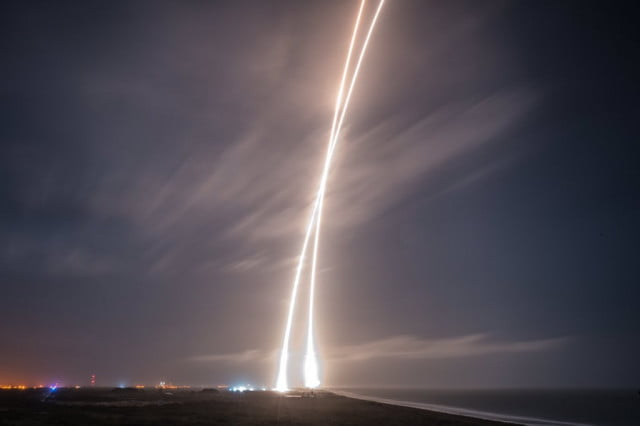 SpaceX Falcon 9 journey