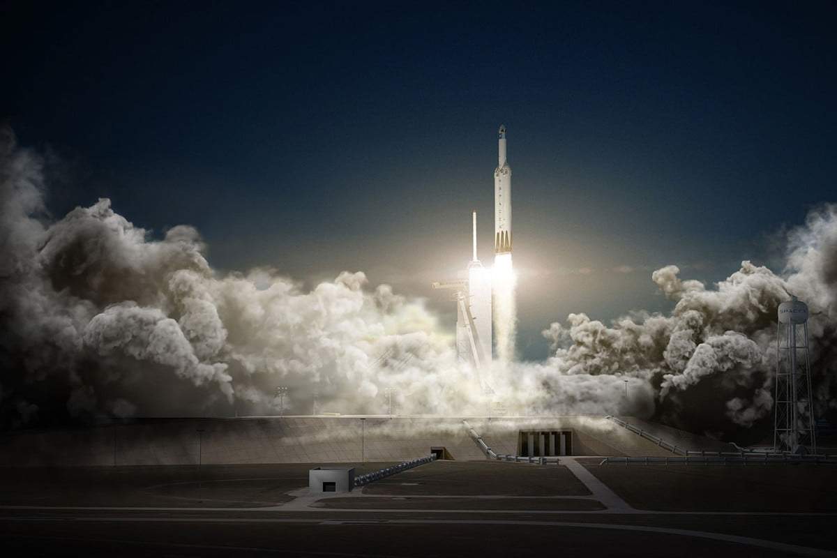 spacex  million dollar air force gps satellite launch contract red dragon mars