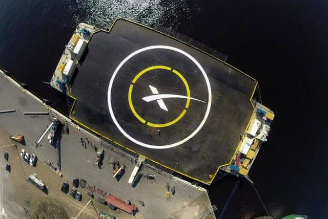 spacexs third attempt at sea barge landing ends in failure spacexbarge