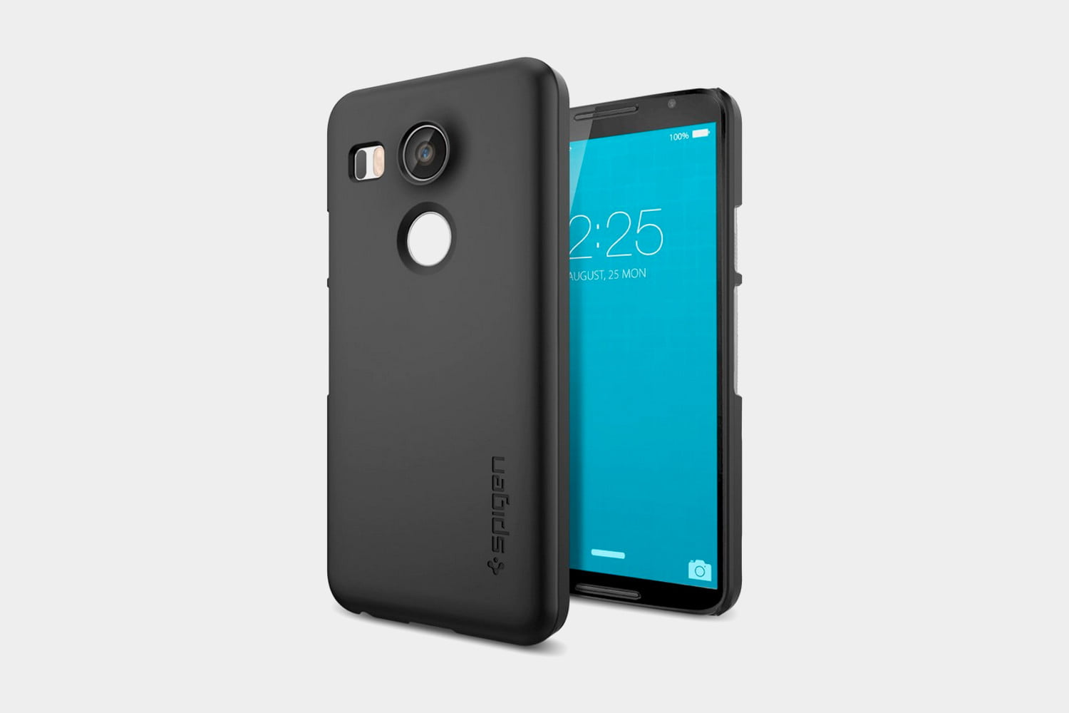spigen thin fit nexus 5x shell case smooth black very interested getting