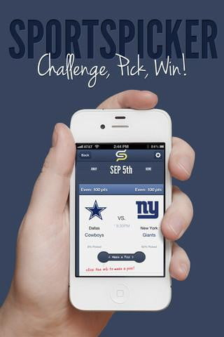 sportspicker app screenshot football app