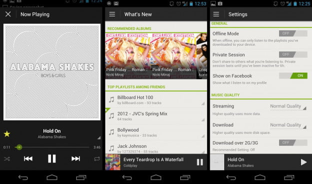 Spotify for Android Ice Cream Sandwich - 2