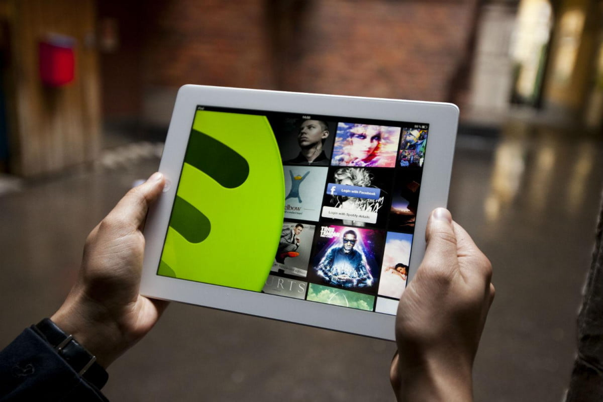 spotify muddies the wireless waters with connect feature ipad  x