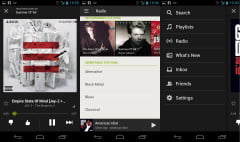 Spotify Radio for Android screenshots