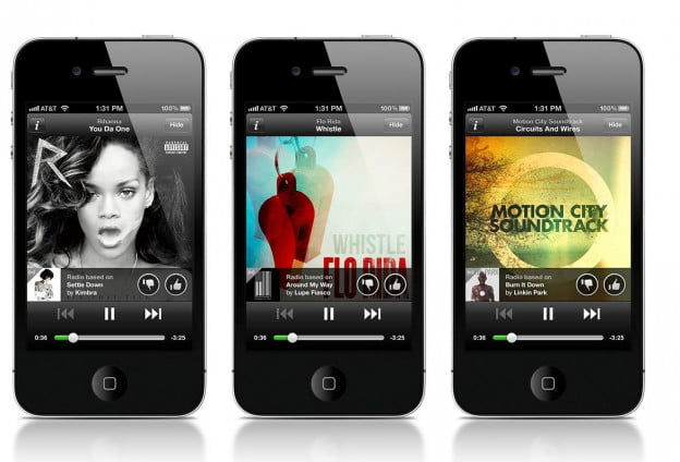 Spotify launches free streaming radio in iOS app