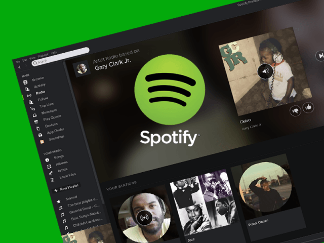 how to put itunes songs on spotify