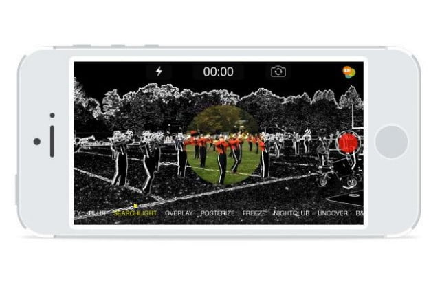 spotliter iphone applies fun effects filters videos recording